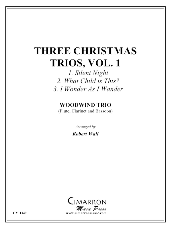 Various - Three Christmas Trios, vol. 1 - Woodwind Trio