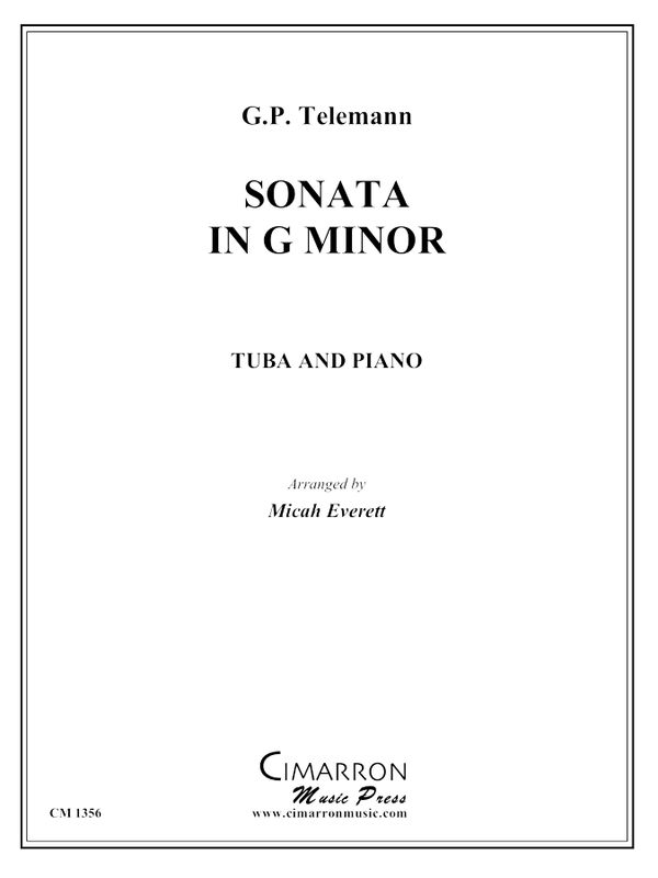 Telemann - Sonata in G minor - Tuba and Piano
