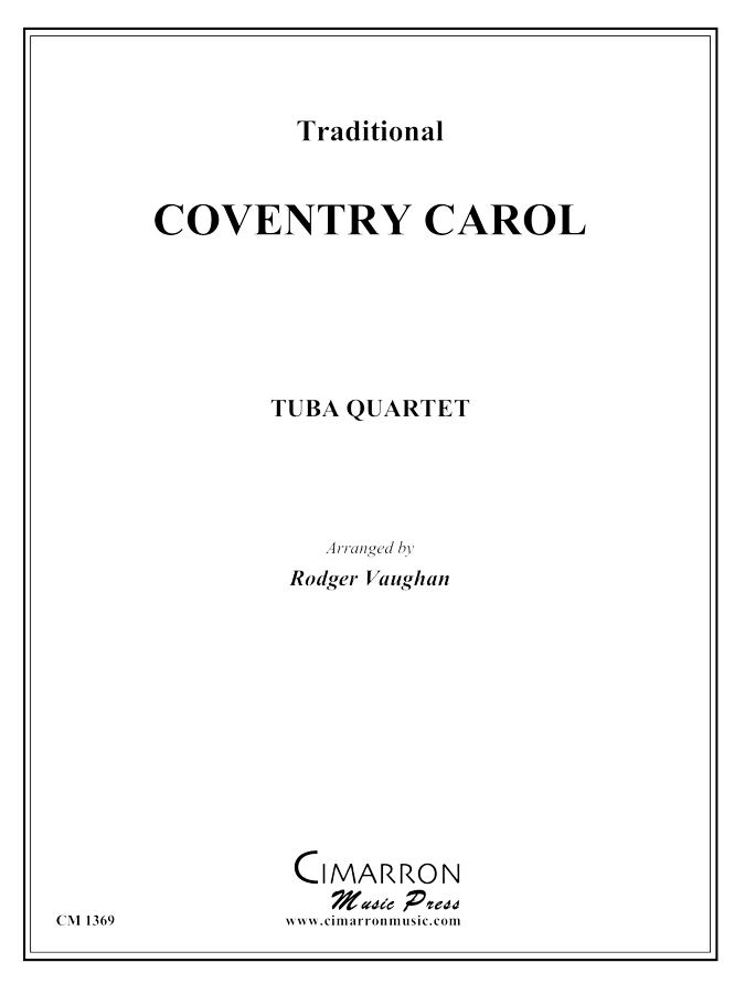 Traditional - Coventry Carol - Tuba Quartet