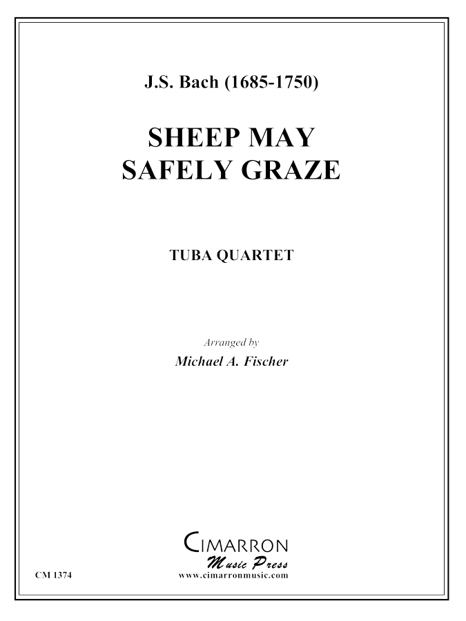 Bach - Sheep May Safely Graze - Tuba Quartet (EETT)