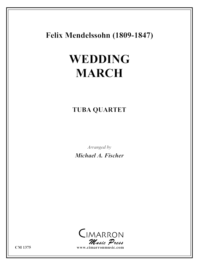 Mendelssohn - Wedding March - Tuba Quartet (EETT)
