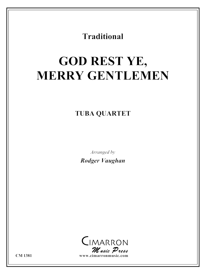 traditional - God Rest Ye, Merry Gentlemen - Tuba Quartet (EETT)