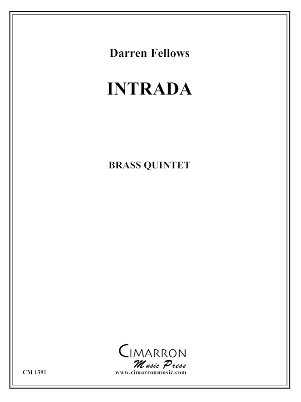 Fellows, Darren - Intrada - Brass Quintet
