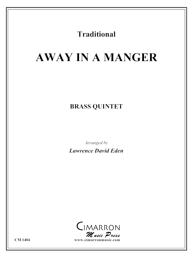 Traditional - Away in a Manger - Brass Quintet