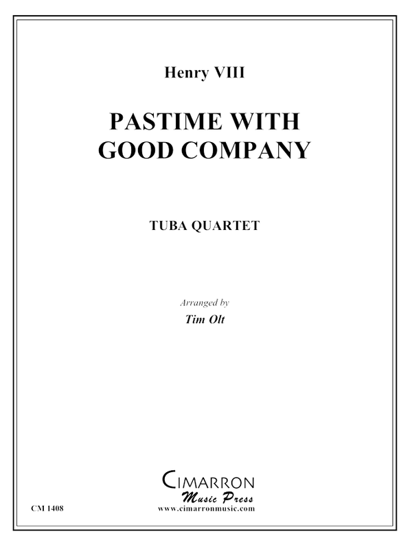 Henry VIII - Pastime with Good Company - Tuba Quartet (EETT)