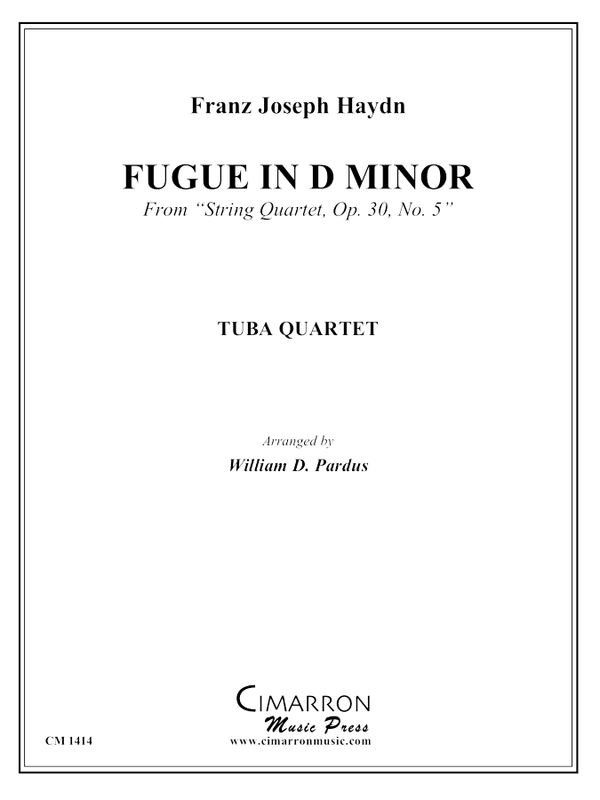 Haydn - Fugue in d minor - Tuba Quartet (EETT)