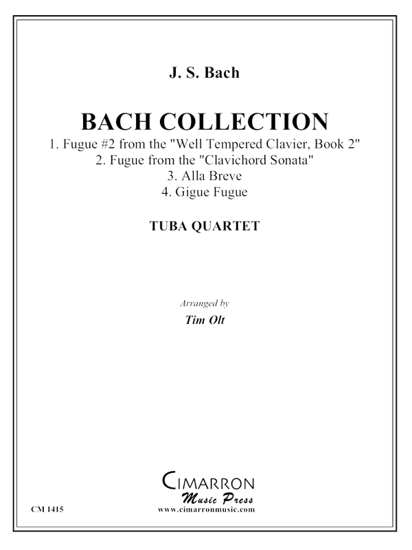 Bach, J S - Bach Collection - Tuba Quartet (EETT)