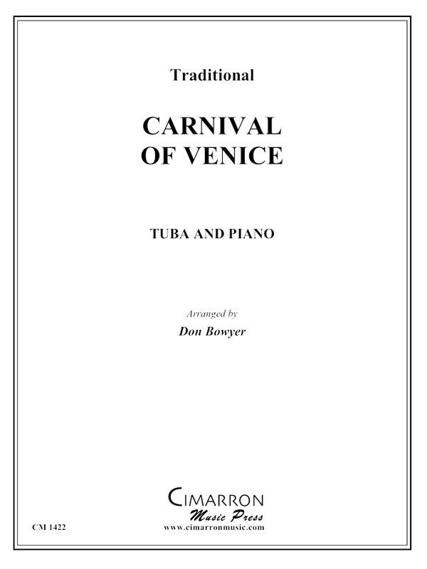 Traditional - Carnival of Venice - Tuba and Piano