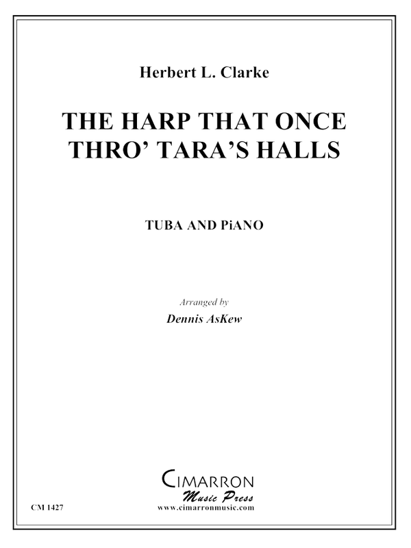 Clarke - The Harp That Once Thro' Tara's Halls - Tuba and Piano