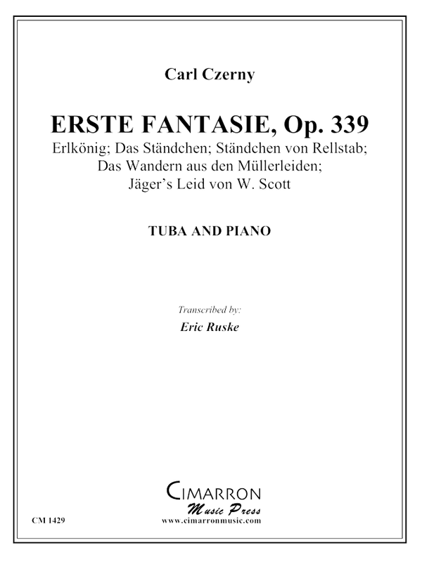 Czerny, Carl - Erste Fantasie - Tuba and Piano