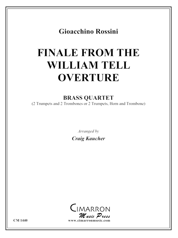 Rossini - Finale from William Tell - Brass Quartet