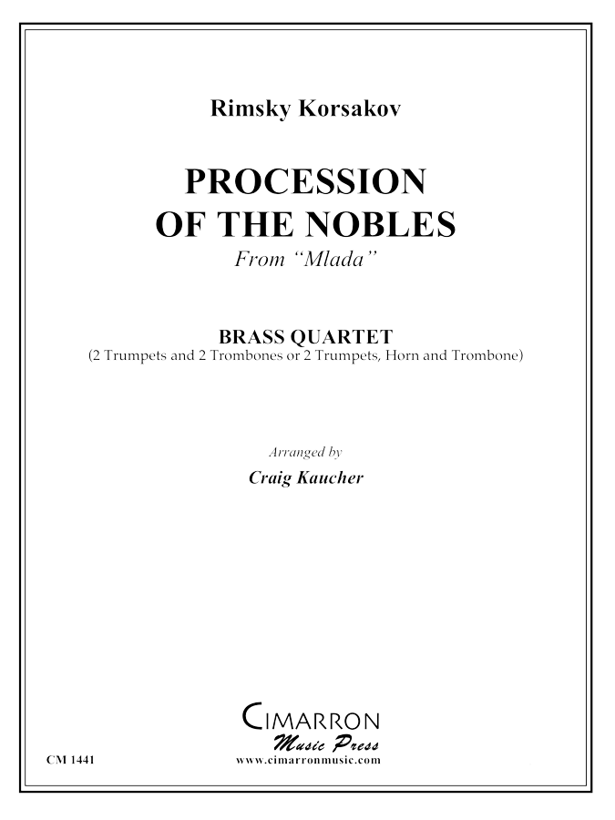 Rimsky-Korsakov - Procession of the Nobles - Brass Quartet