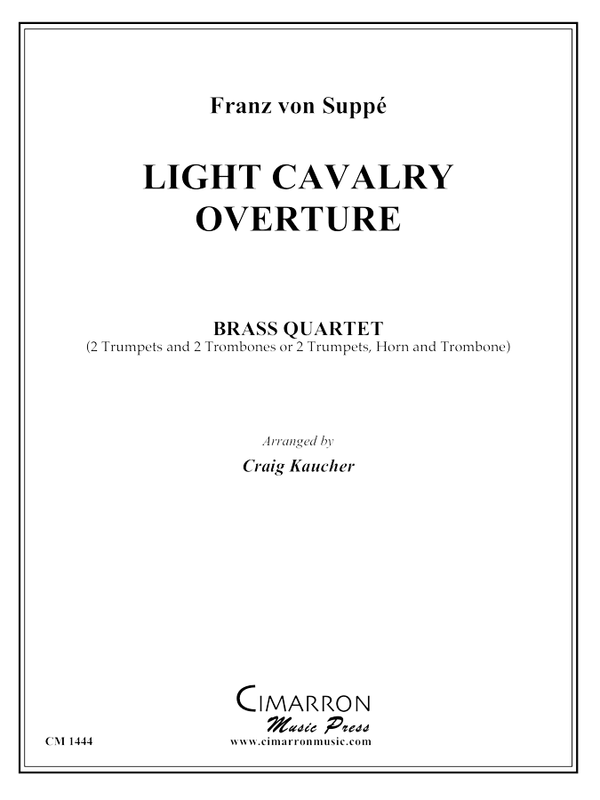 Suppe - Light Cavalry Overture - Brass Quartet