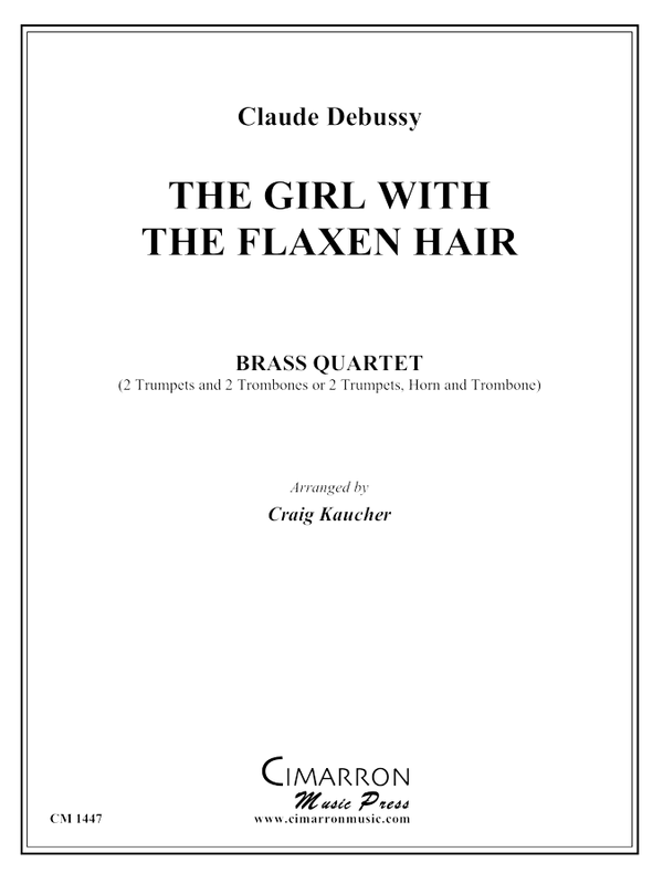 Debussy - The Girl with the Flaxen Hair - Brass Quartet