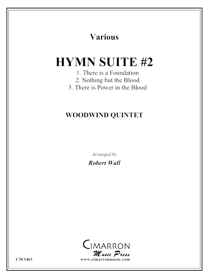 various - Hymn Suite #2 - Woodwind Quintet