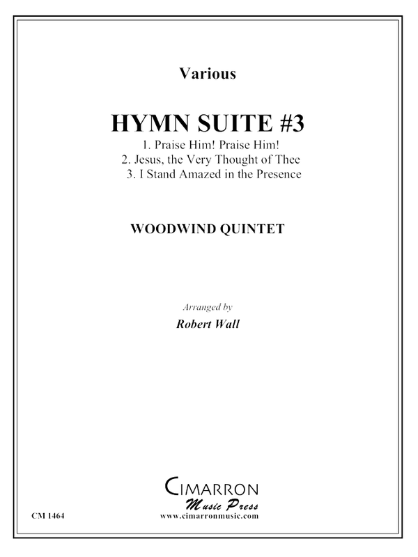 various - Hymn Suite #3 - Woodwind Quintet