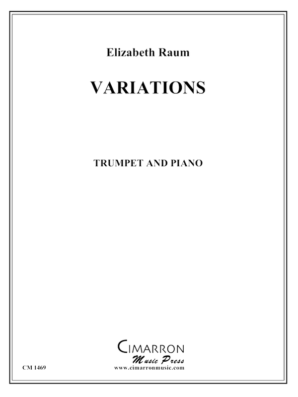 Raum - Variations - Trumpet and Piano