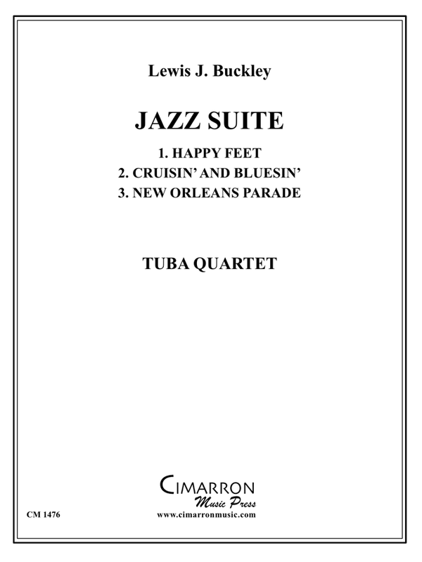 Buckley, Lewis - Jazz Suite - Tuba Quartet (EETT)
