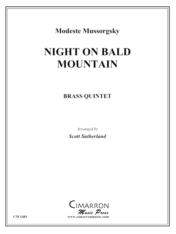 Mussorgsky - Night on Bald Mountain - Brass Quintet