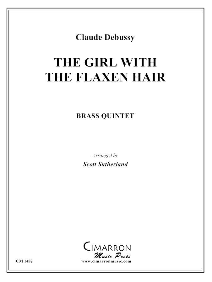 Debussy - The Girl with the Flaxen Hair - Brass Quintet