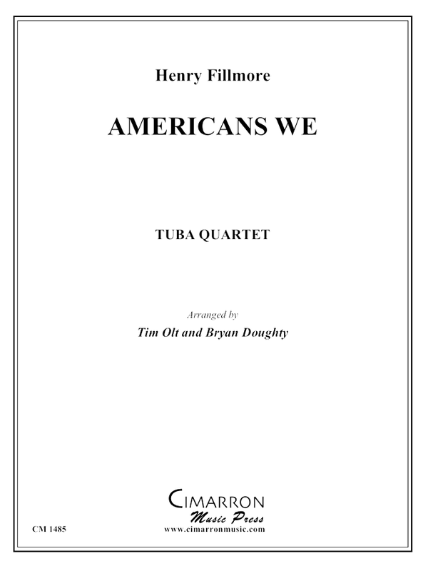 Fillmore - Americans We - Tuba quartet (EETT)