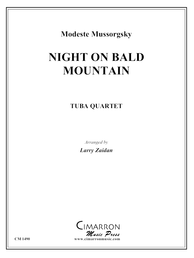 Mussorgksy - Night on Bald Mountain - Tuba quartet (EETT)