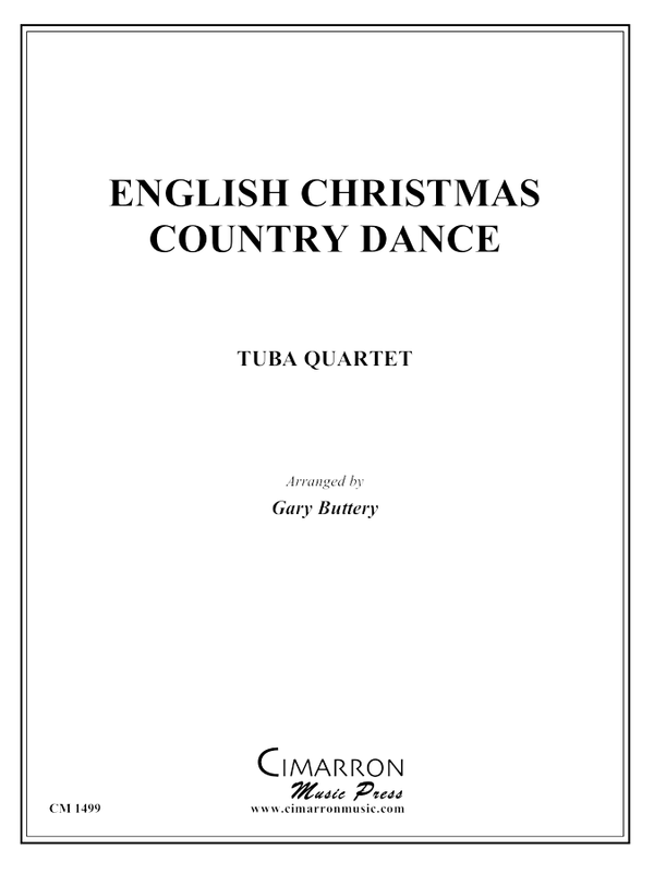 Traditional - An English Christmas Country Dance - Tuba quartet (EETT)
