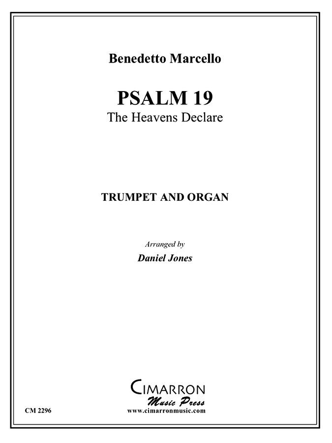 Marcello - Psalm 19 - Trumpet And Organ