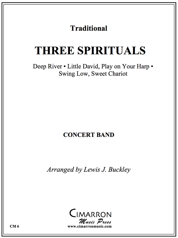 Traditional - Three Spirituals - Concert Band