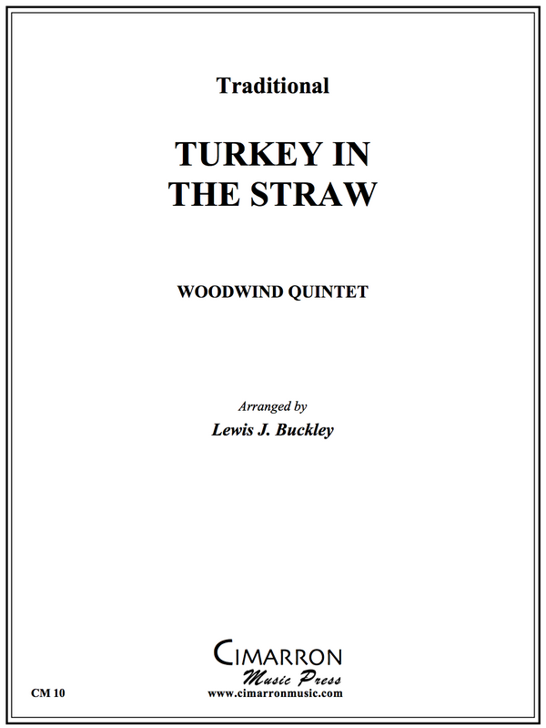 Traditional - Turkey in the Straw - Wind Quintet