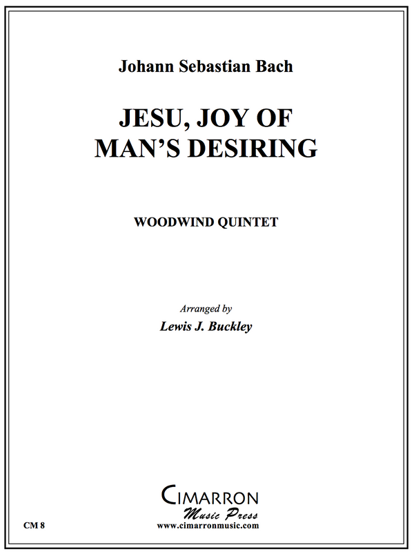 Bach - Jesu Joy of Man´s Desiring - Wind Quintet