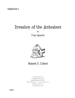 Cohen - Invasion of the Anteaters - Tuba Quartet