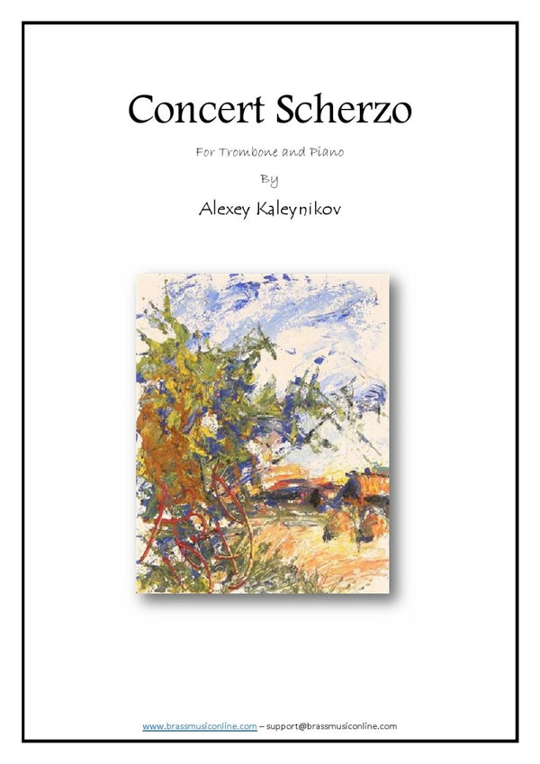 Concert Scherzo - Trombone and Piano