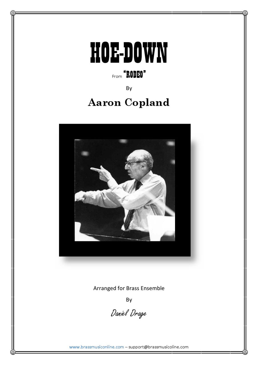 Copland - Hoe-Down - Brass Ensemble