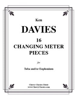 Davies – 16 Changing Meter Pieces for Tuba