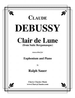 Debussy – Clair de Lune - for Euphonium & Piano