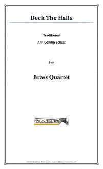 Traditional - Deck The Halls - Brass Quartet