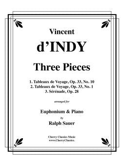 dIndy - Three Pieces for Euphonium and Piano
