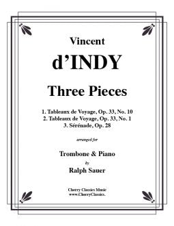 d'Indy - Three Pieces for Trombone and Piano