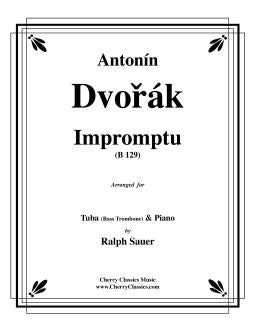 Dvorak - Impromptu for Tuba or Bass Trombone and Piano