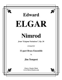 "Elgar – Nimrod from ""Enigma Variations"" for 11-part Brass Ensemble"