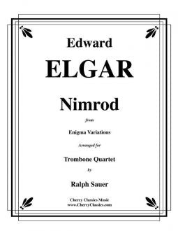 Elgar - Nimrod from the Enigma Variations for Trombone Quartet