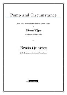 Elgar - Pomp and Circumstance - Brass Quartet