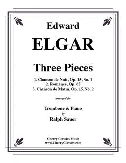 Elgar - Three Pieces - Trombone and Piano