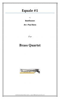 Beethoven - Equale #1 - Brass Quartet