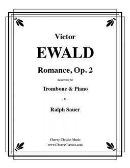 Ewald - Romance, Op.2 - Trombone and Piano