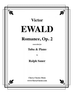 Ewald - Romance, Op.2 - Tuba and Piano