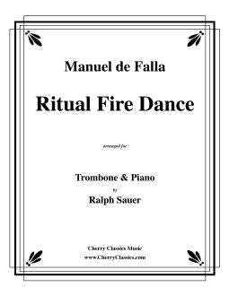 Falla – Ritual Fire Dance for Trombone and Piano