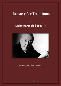 Malcolm Arnold - Fantasy for Trombone