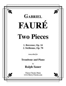 Fauré - Two Pieces - Trombone and Piano